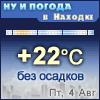 Ну и погода в Находке - Поминутный прогноз погоды